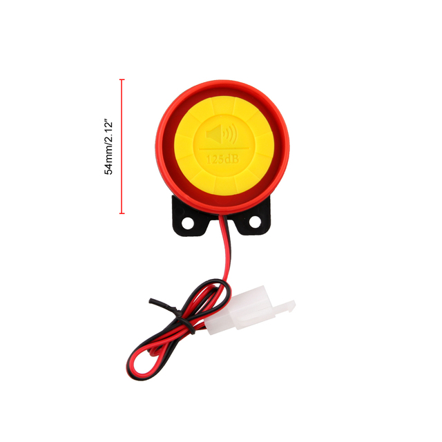 Universal Two-way Motorcycle Scooter Anti-theft Security Alarm System Engine Start Remote Control Key MB-AH023 5