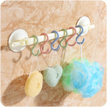 Big promotion 1 pcs 10g Kitchen Hanging Hanger Storage Holders Organizer Household Home Essential Useful New S Shaped Hooks(China)