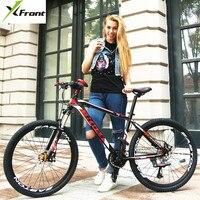Neue Marke Mountainbike Aluminium Rahmen 26 zoll Rad 27 Speed Hydraulische Scheiben Bremse MTB Fahrrad Outdoor Dämpfung Bicicleta-in Fahrrad aus Sport und Unterhaltung bei