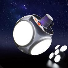 фонарь для кемпинга палатка Складная кемпинге портативная перезаряжаемая