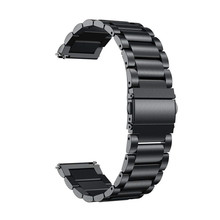 Wtitech Vervanging Band Milanese Loop Metalen Horloge Band Armband Voor Suunto Traverse Zwart/Traverse Alpha Stealth