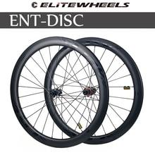 ELITEWHEELS ENT дисковые тормоза, Углеродные колеса 700c UCI, качественные шоссейные велосипеды, Углеродные колеса с центральным замком или 6-blot Bock Road ...
