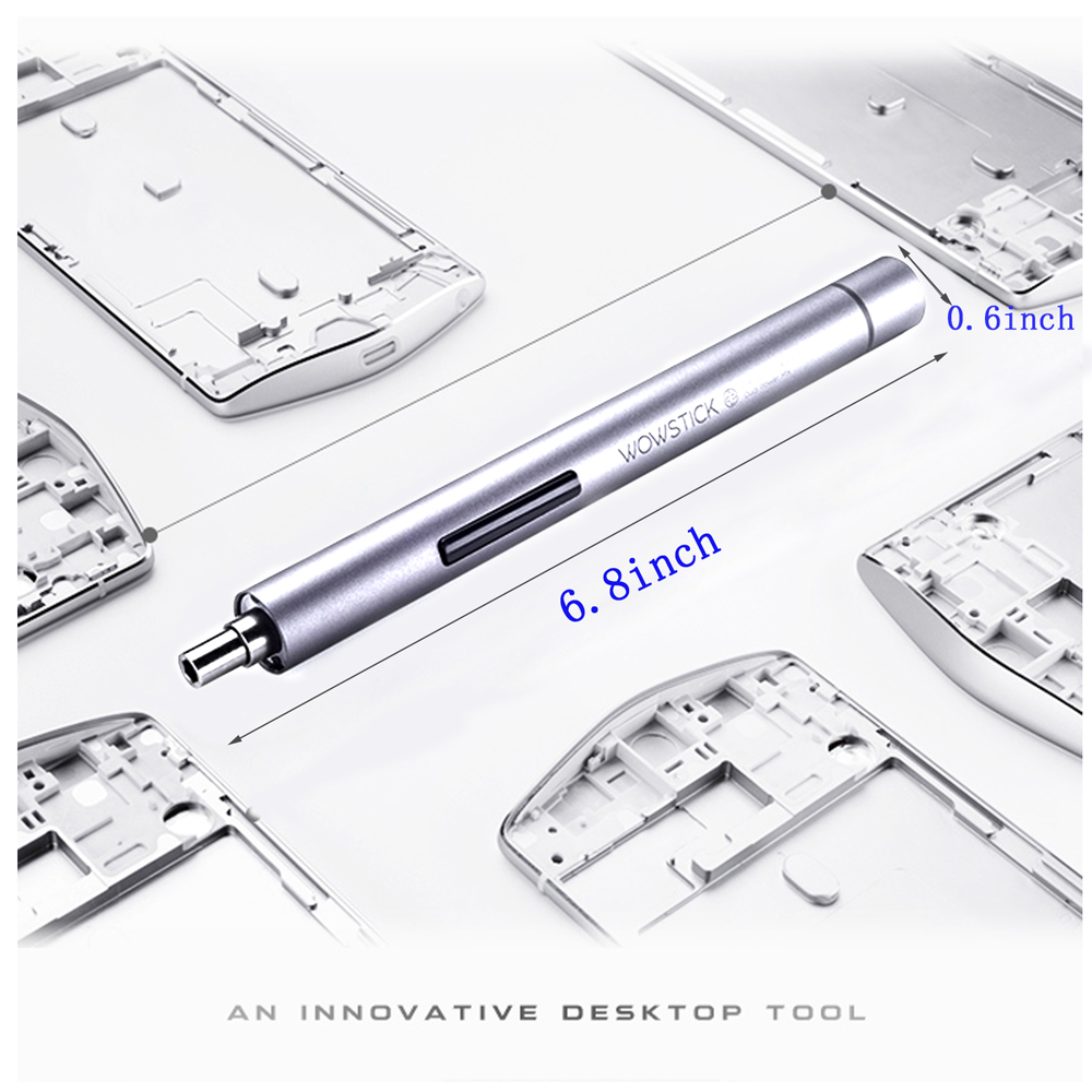 Wowstick1P bites Pocket Kit Precíziós mini vezeték nélküli - Elektromos kéziszerszámok - Fénykép 3