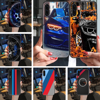 POWER bmw sports car Phone case For Samsung Galaxy A 3 5 7 8 10 20 21 30 40 50 51 70 71 E S 2016 2018 4G black trend hoesjes image