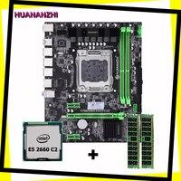 Computador de construção huananzhi x79 placa-mãe cpu ram combos x79 lga2011 mainboard cpu xeon e5 2660 c2 ram 16g (2*8g) ddr3 reg ecc