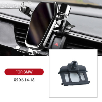 Cool Car Mobile Phone Holder For BMW X1 X2 16-20 X4 18-20 X5 X6 14-18 X5 X7 19-20 Air Vent Mount Cell Phone Holder Stand Cover image