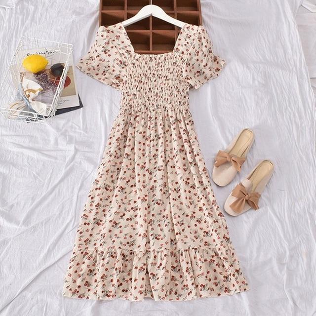 Casual Summer Dress Bohemian Elegnant and Long 2