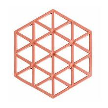 цена на Heat-resistant Placemat Home Hollow Casserole Pad Anti-hot Mat Geometric Heat Insulation Solid Color  Pad