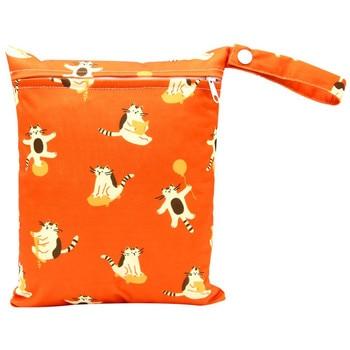 20*25cm Mini Diaper Wet Bag Single Pocket Zipper Baby Bags For Mom Maternity Travel Stroller Bag PUL Nappy Diaper Bag Wetbag - AS-MB-22