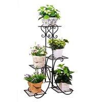 Rack Shelf Landing Type A Living Room Green Luo Flower Rack Balcony Chlorophytum Flower Several Household Flowerpot Shelves