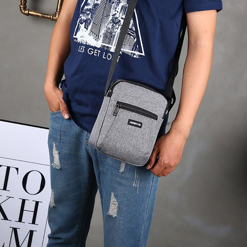 Men's Messenger Bag Crossbody Shoulder Bags Travel Bag Man Purse Small Sling Pack For Work Business