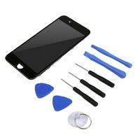 Substituição da tela lcd para iphone7 com ferramentas dissembling display lcd digitador da tela substituição conjunto de cristal líquido|Pacotes de acessórios para celular| |  -
