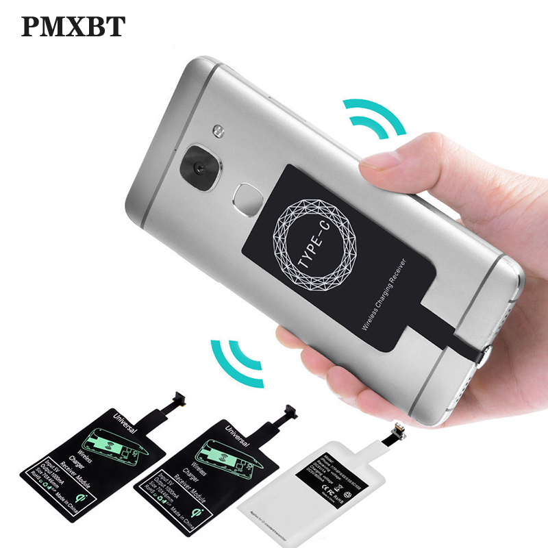 Wireless Charger Universal <font><b>Qi</b></font> Wireless Charger Adapter Receiver Mat For <font><b>iPhone</b></font> <font><b>6</b></font> 7 8 Plus Samsung Note 8 Fast Wireless Charging image