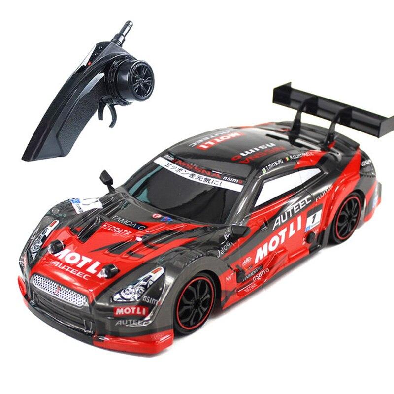 Rc carro para gtr/lexus 4wd drift racing carro campeonato 2.4g fora da estrada rockstar rádio controle remoto veículo eletrônico hobby brinquedos