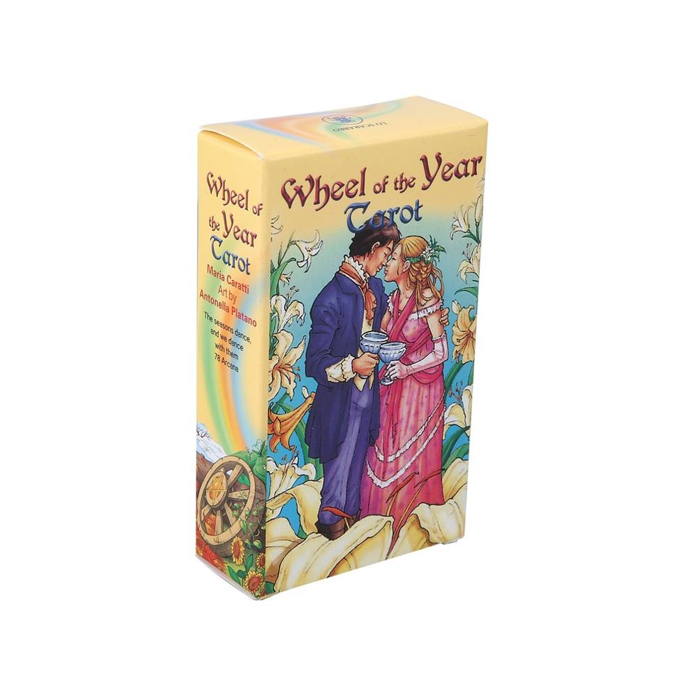 2019 hot Wheel Of The Year Tarot Read Fate Tarot Card Game For Personal Use Board Game A 78-card Deck