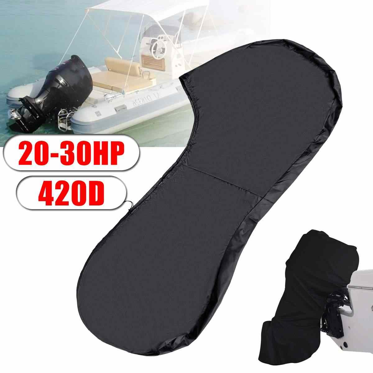 Full Outboard Engine Cover Oxford Cloth Waterproof Boat Cover BEYST Outboard Motor Cover Dust Rain UV Resistant Motor Protective Cover Trailerable Protector for Boat//Yacht//Dinghy