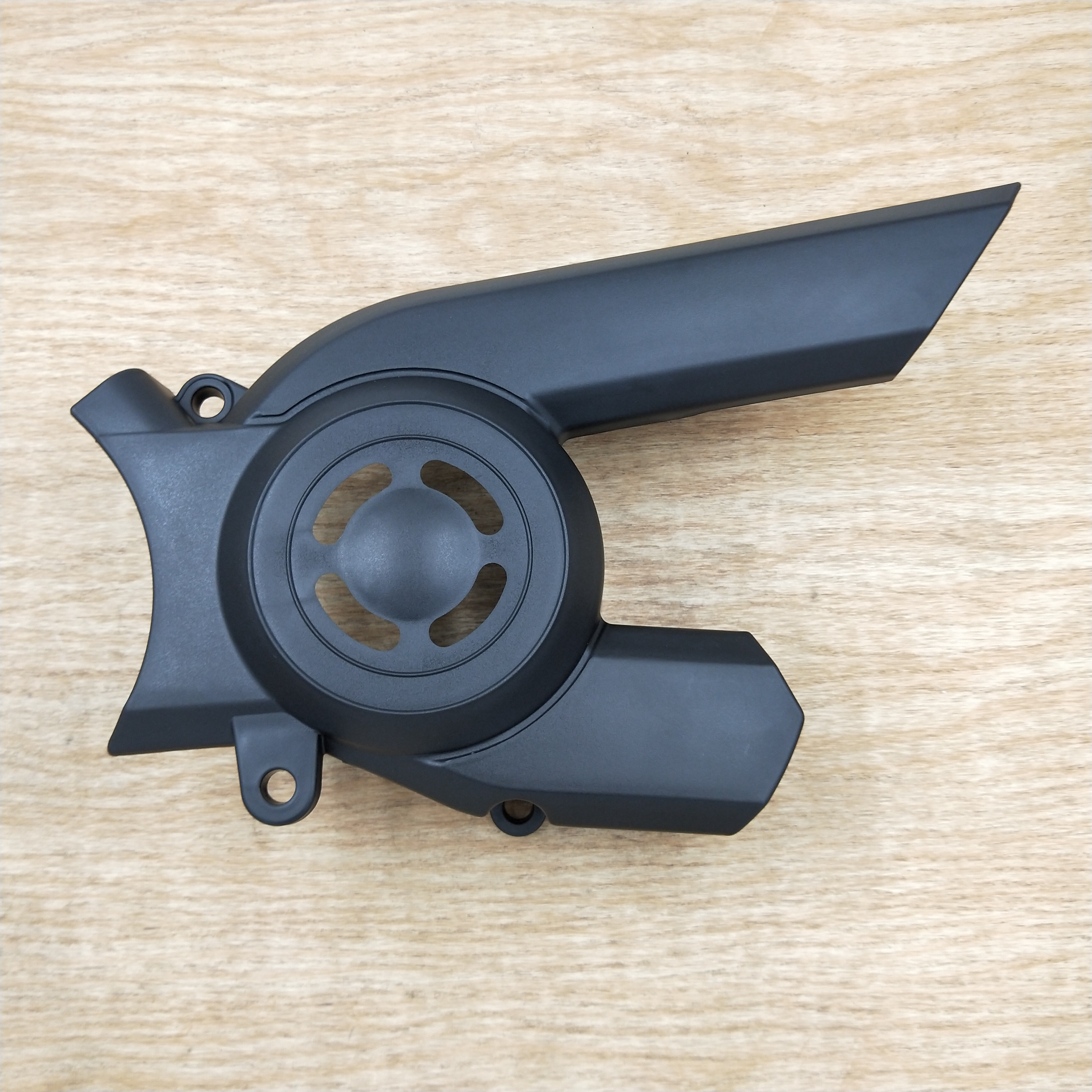Matte Black Plastic Motorcycle Pulley Sprocket Cover For <font><b>Harley</b></font> Street <font><b>XG750</b></font> XG500 2015 2016 2017 2018 Motorcycle Parts image