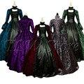 Размера плюс 5xl Косплей средневековый Дворцовая принцесса; Платье для взрослых в винтажном стиле вечернее платье для женщин на шнуровке; Пи...