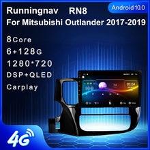 4G LTE Android 10,1 Für Mitsubishi Outlander Xl 3 2017 2018 2019 2020 Multimedia Stereo Auto DVD Player Navigation GPS Radio