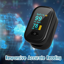 Oxímetro de pulso portátil digital digital pulsoximeter medidor de saturação de oxigênio no sangue spo2 monitor de freqüência cardíaca