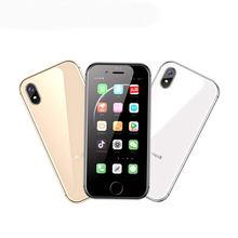 Anica I8 3G WCDMA Smartphone Quad Core 1GB RAM 8GB ROM 2.45 inç GPS wifi Android 6.0 süper Mini ultra ince kart lüks cep telefonu