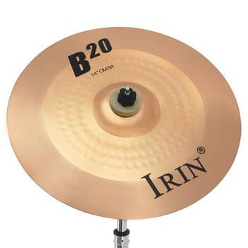 14 Cal B20 talerz profesjonalny wysokiej jakości precyzyjny talerz z brązu na Instrument perkusyjny części perkusja dla początkujących graczy tanie i dobre opinie CN (pochodzenie) PEL_0H70