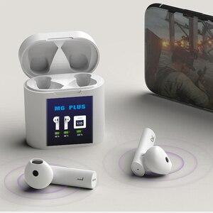 Беспроводные наушники-вкладыши Bluetooth 5,0, наушники TWS HiFi с шумоподавлением, гарнитура с микрофоном и поддержкой температуры тела