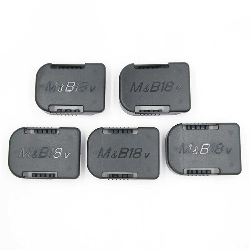 Soporte de almacenamiento para batería de 1 unidad, soporte de Clip para Makita BL1860B BL1850B BL1860 BL1850 para batería Bosch BAT622 BAT609 18V