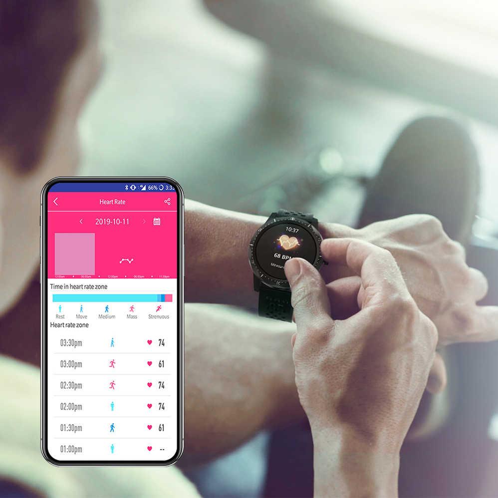 COLMI חכם שעון SKY1 פרו IP68 Bluetooth קצב לב צג שעון גברים נשים Smartwatch עבור iphone אנדרואיד טלפון
