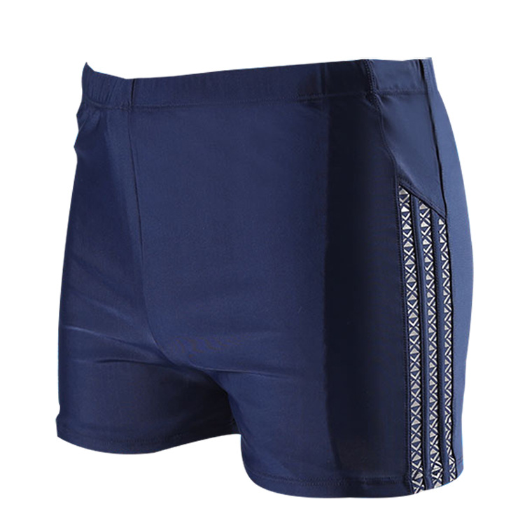 New Style Joint Plus-sized No. Guy Hot Springs Beach Fashion Korean-style Quick-Dry Joint Men Boxer Swimming Trunks Plant