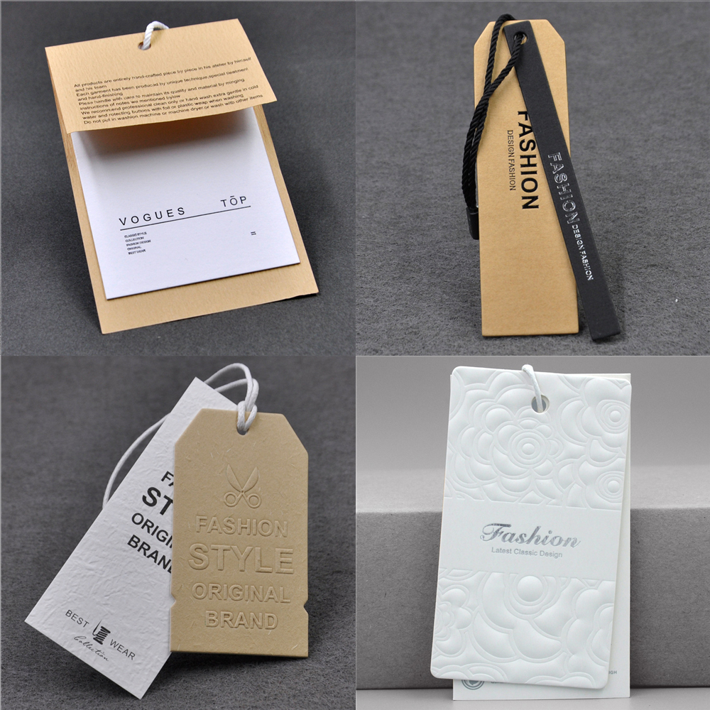 100 Pcs of Paper String Tags Price Tags Elegant String Tags Perfect for...