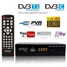 H.264 в Москву DVB-C Dvb T2 USB ТВ тюнер цифровой ТВ приставка DVB-T2 DVB C Бесплатный кабельный ресивер спутниковый Dvbt2 Wifi IP tv m3u Youtube