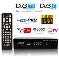 H.264 In moscow DVB-C Dvb T2 USB Tv Tuner Digital tv Box DVB-T2 DVB C Free Cable Receiver Satellite Dvbt2 Wifi IPTV m3u Youtube