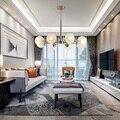 Современная лампа  светодиодный подвесной светильник  стеклянный глобус  светодиодная Подвесная лампа  Светильники для внутреннего освеще...