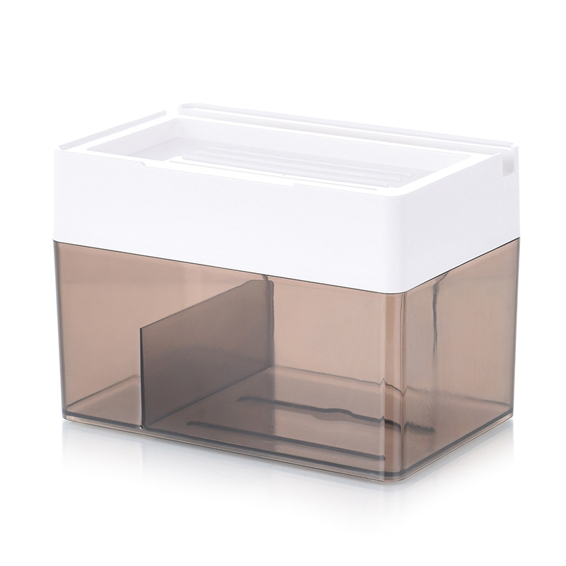 Tissue Box Toilet Bathroom Waterproof Draw Roll Tube Paper Garbage Bags Wall Suction Storage Rack Tray Storage Phone Holder