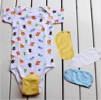 Lovely Baby Boys Girls Kids Baby Romper Crotch Extenter Dziecko 1 PC Body Extender Opieka nad dzieckiem 4 kolory tanie i dobre opinie Mężczyzna CN (pochodzenie) W wieku 0-6m 7-12m 13-24m 25-36m 3-6y Super Utility New Baby Kids Jumpsuit Romper Lengthen Extend
