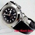 Мужские часы Corgeut 41 мм Miyot 8215  водонепроницаемые сапфировое стекло  автоматические наручные часы для мужчин co103
