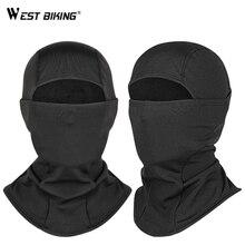 WEST BIKING Winter Headwear Cap Neck Guard Full Face Mask  Windproof Scarf Bike Cycling thermal warm fleece balaclava hood Hat