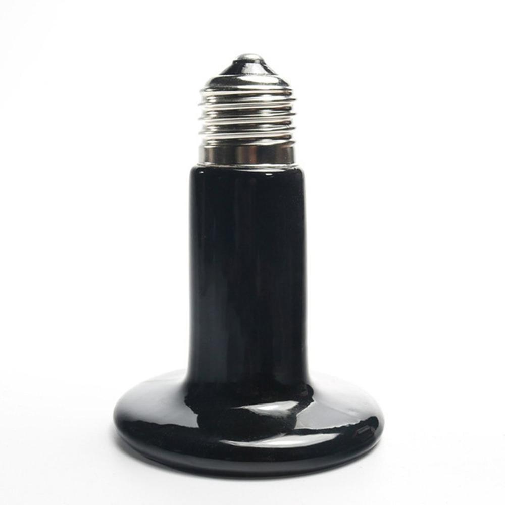 Pet Ceramic Heating Lamp 25W 50W 75W 100W 150W 200W IR Heat Emitter Bulb 220-240V Turtle Snake Lizard Heater Lamp