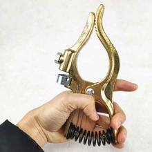 Welding Ground Clamp 300A Earth Holder Full Copper Body Heavy Duty Type G for MIG MMA TIG Welding Machine Welding Clamp