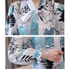 Blusas Mujer De Moda 2021 Ladies Tops Chiffon Blouses Shirts Long Sleeve Button Floral Bow Blouse For Women Clothing 6002 50 5