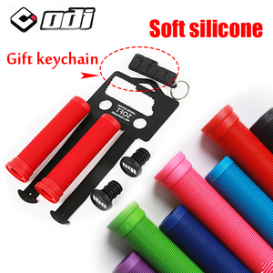 MTB bicycle Handlebar grip Silicone Anti Slip Bike handle bar Grips 130MM for 22.2mm caliber Mountain Road Blance cycling Parts