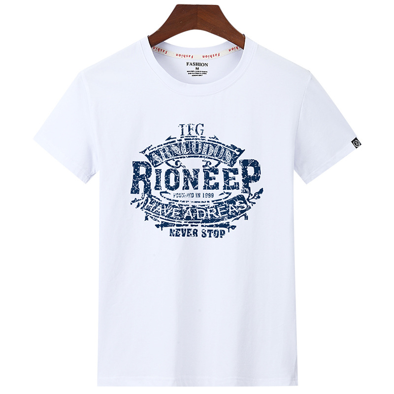 2020 fashion men's T-<font><b>shirt</b></font> brand men's hip-hop cotton supersize <font><b>6</b></font> <font><b>xl</b></font> printed lax round collar short sleeve T-<font><b>shirt</b></font> in summer image