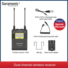 Saramonic UwMic9 Uitzending Uhf Draadloze Microfoon Systeem Ontvangers En Xlr Zender Voor Camera & Camcorder & Smart Phone