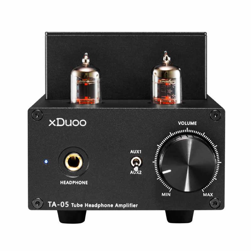 XDuoo TA-05 ue/US/UK/AU rura próżniowa wzmacniacza hifi 780mW Stereo przedwzmacniacz Nichicon pojemność 2x6JI Tube 2xST 772/882 tranzystory