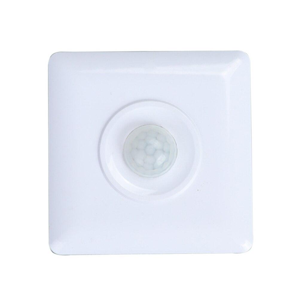 Czujnik ruchu na podczerwień PIR przełącznik 110V 220V automatyczna moduł światła On Off przełącznik światła LED indukcja ciała przełącznik światła
