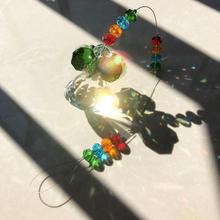 Lamp Suncatcher Chandelier Prisms Pendant Hanging-Parts Crystal Eight-Corners Home-Decor