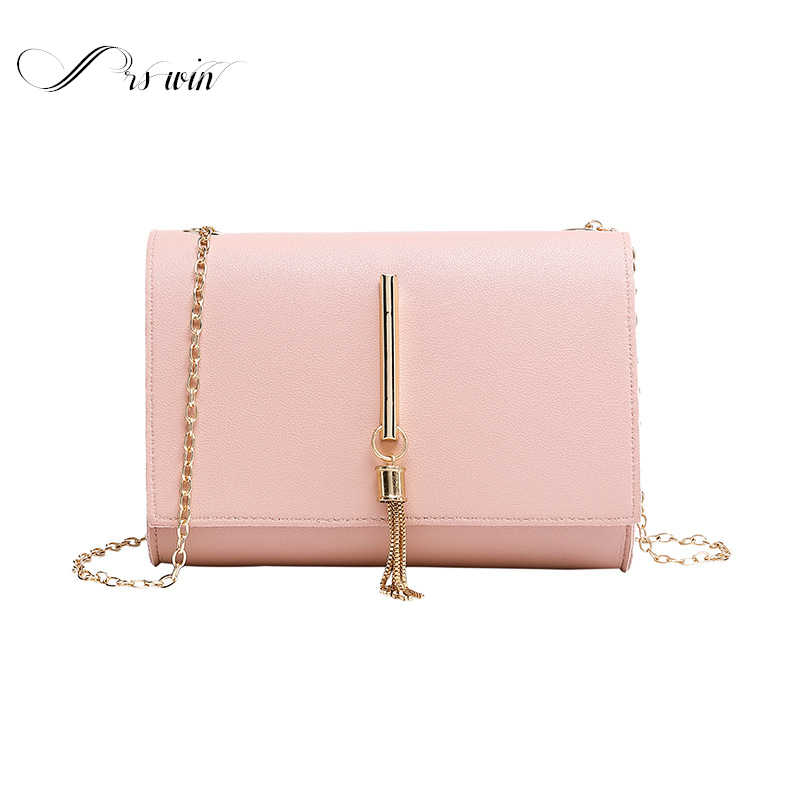 New Fashion Mini Handbags Women's Pu Leather Shoulder Messenger Bags Female Small Crossbody Bags Pink Purse Travel Clutch 2020