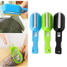 Kitchen Tools Practical Fast Cleaning Fish Skin Scales Peeler Shaver Plane Easily Fish Scales Multifunction Accessories girls fish scales print dress with pants