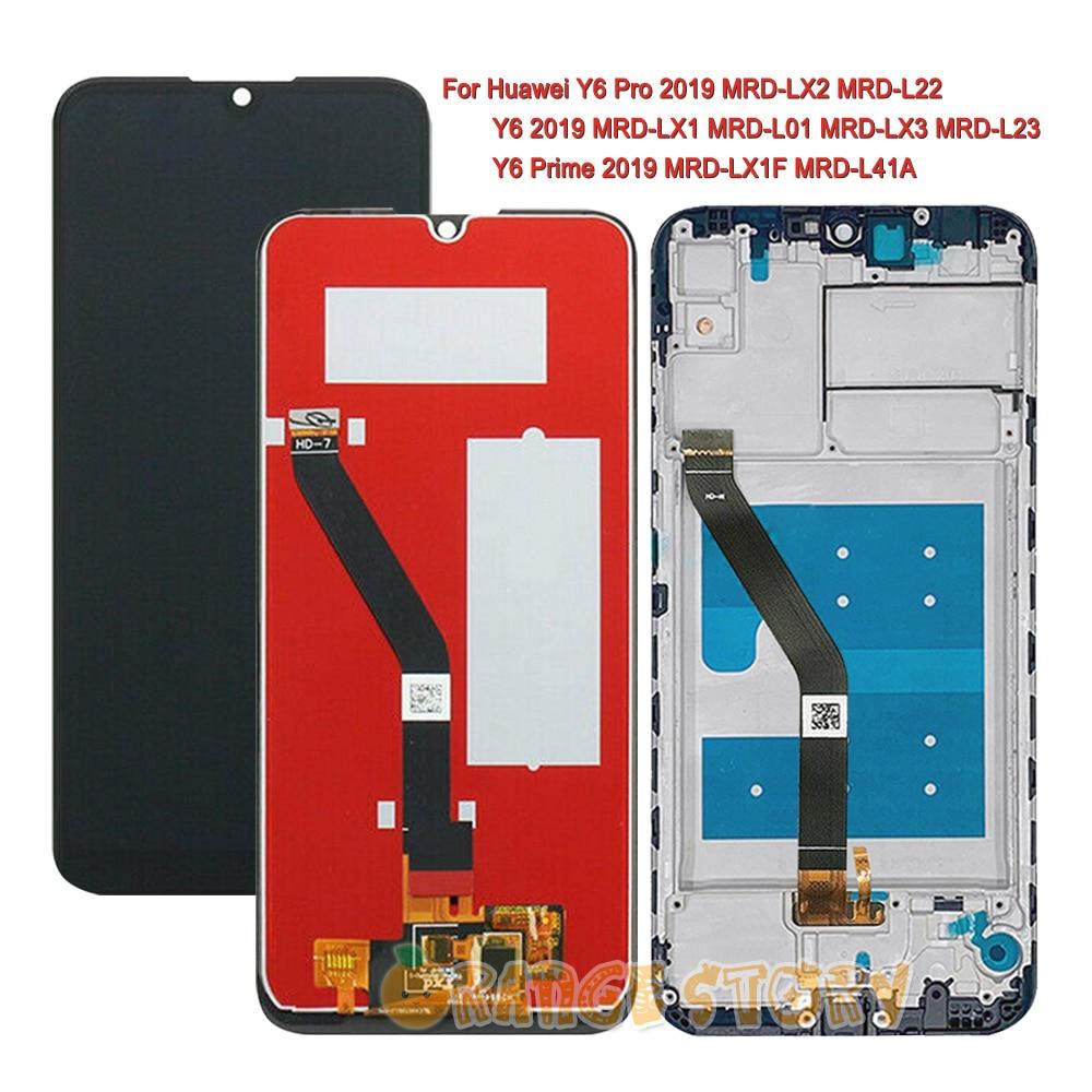 Дисплейный модуль для Huawei Y6 2019 / Y6 Pro 2019 / Y6 Prime 2019; с рамкой|Экраны для мобильных телефонов|   | АлиЭкспресс